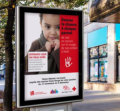 Portfolio Atelier la Marelle : Affiche : La Croix Rouge